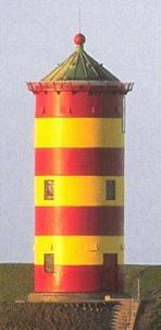 Der Pilsumer Leuchtturm,  auch Otto-Turm genannt